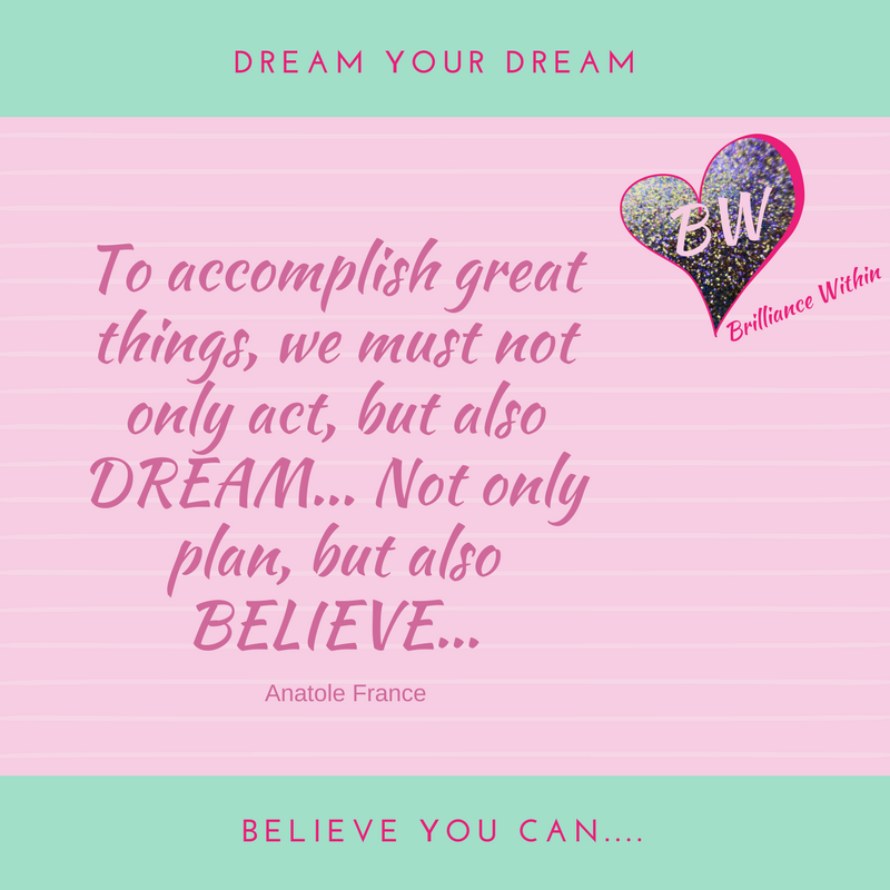 Love Life and Believe in Yourself