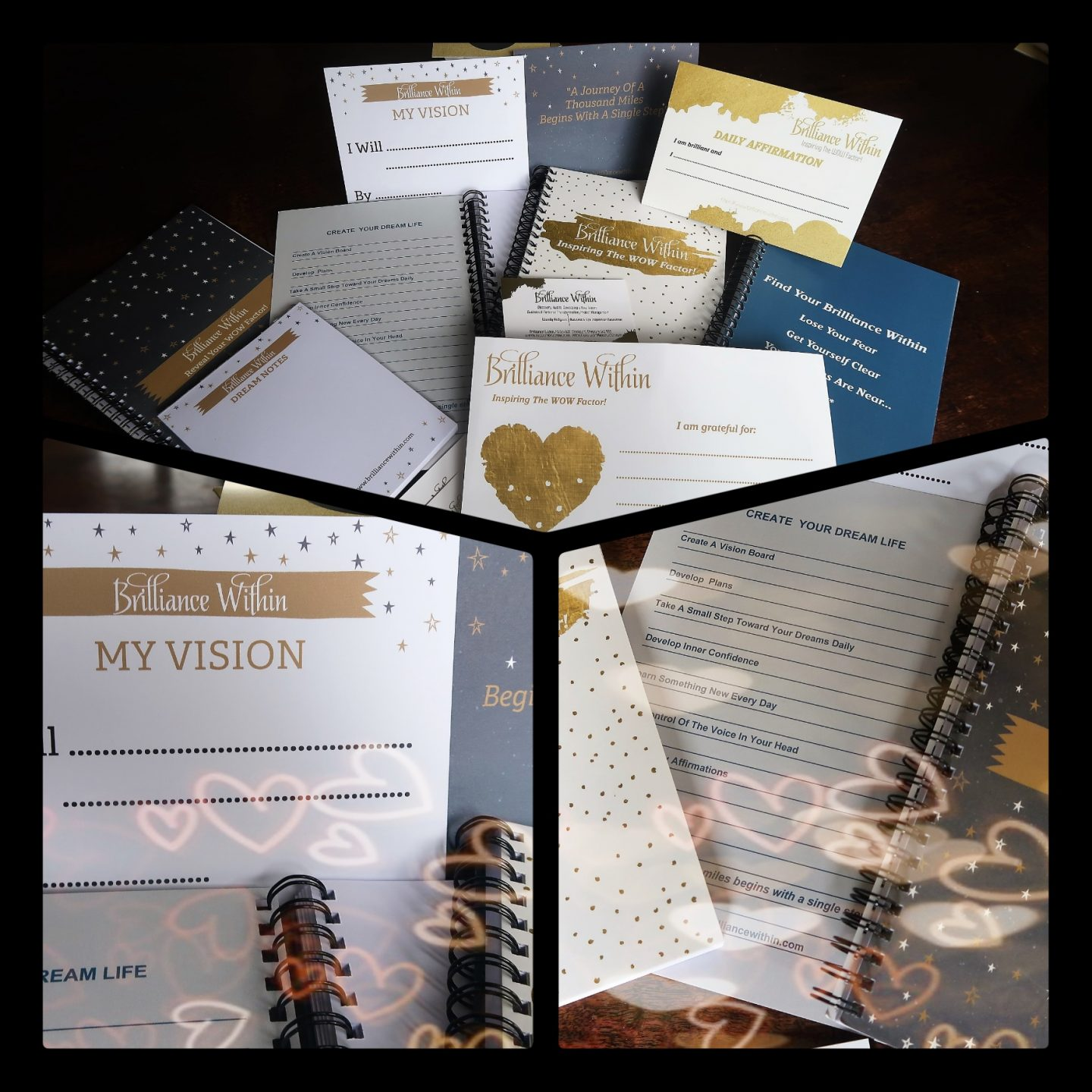 How To Win Brilliance Within's Law of Attraction Stationery Set