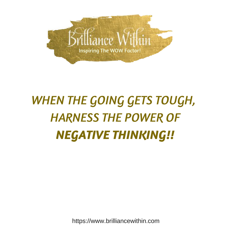 How Thinking Negatively Can Transform Your Life